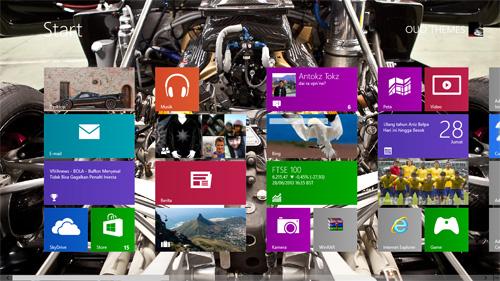 Pagani Zonda Revolution Theme For Windows 7 And 8