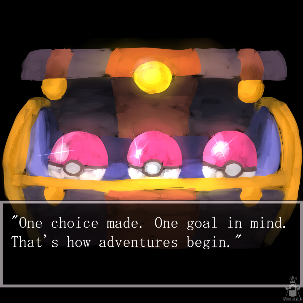 Pokeball Adventure quote: Pokemon taught me this life lesson.