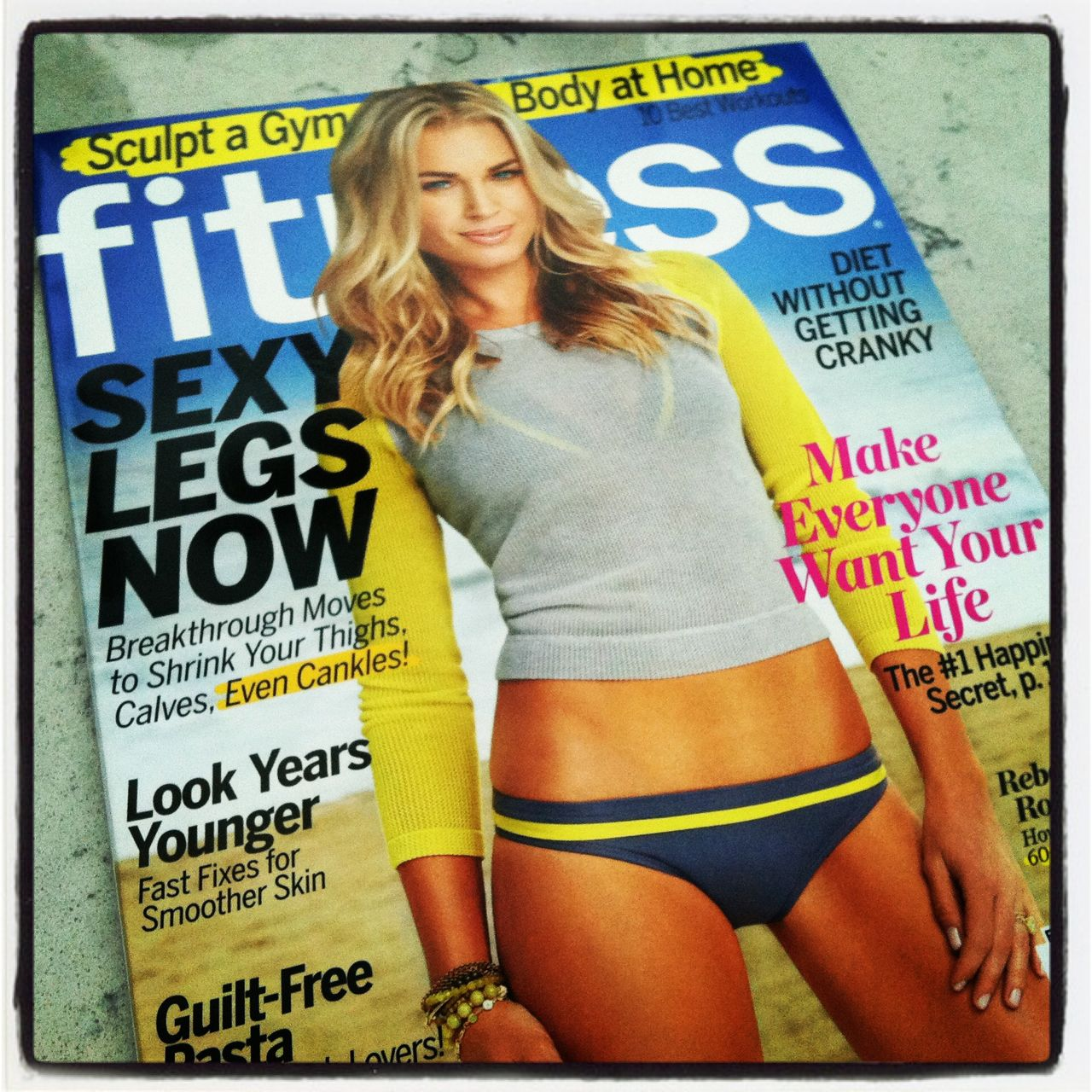 My Leg Makeover with FITNESS Magazine - Love Life Surf