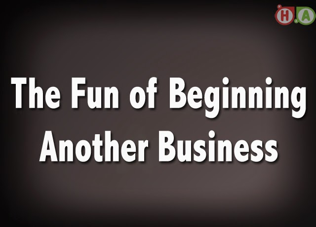 The Fun of Beginning Another Business