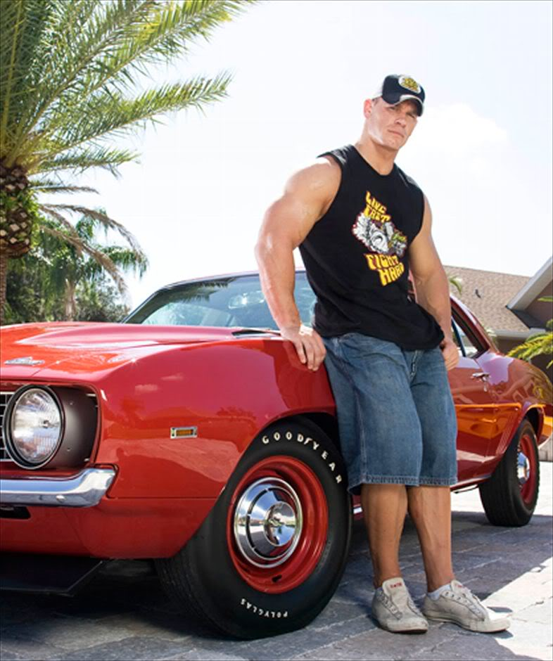 See John Cena S Car Collection And Video Show Mustang