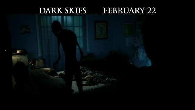 The greys dark skies