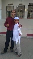 U.Akhwan bersama Adik Munir di Kemaman