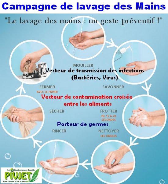Campagne de lavage des mains