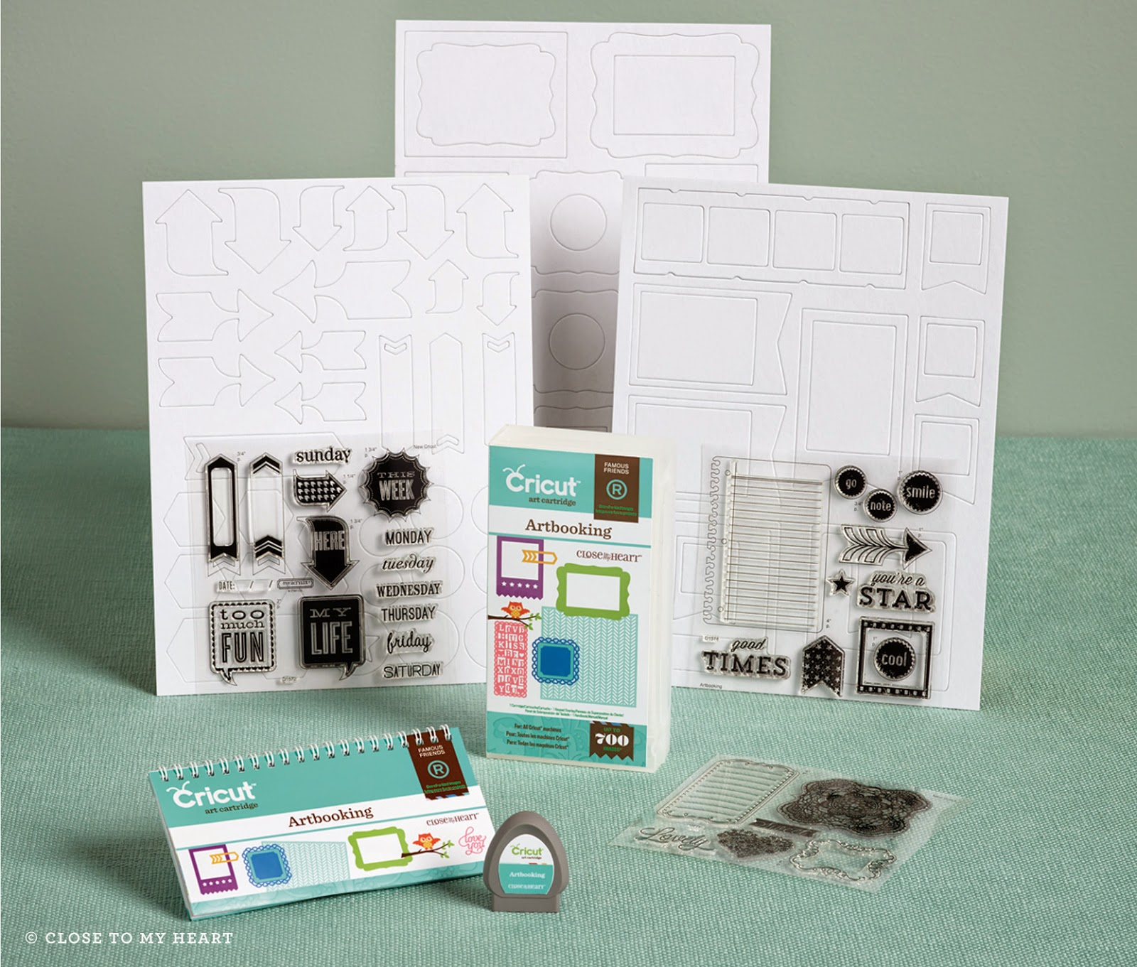Free Cricut Artbooking Cartridge