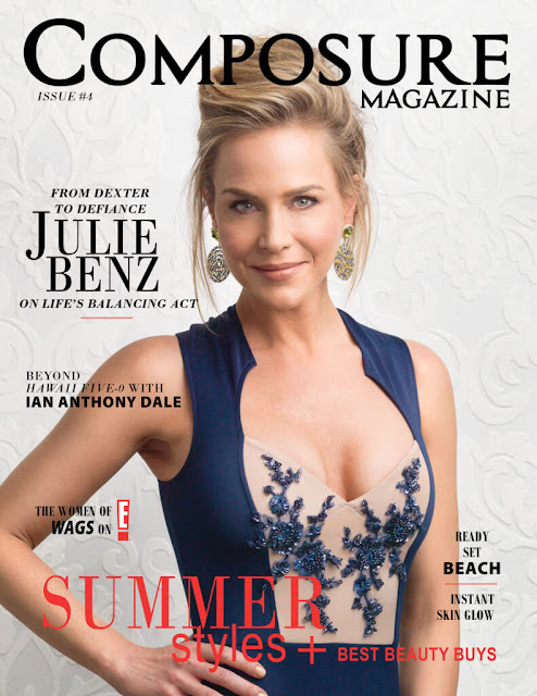 Actress @ Julie Benz for Composure Magazine Issue