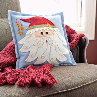 Новогодние идеи, шитье, подушка