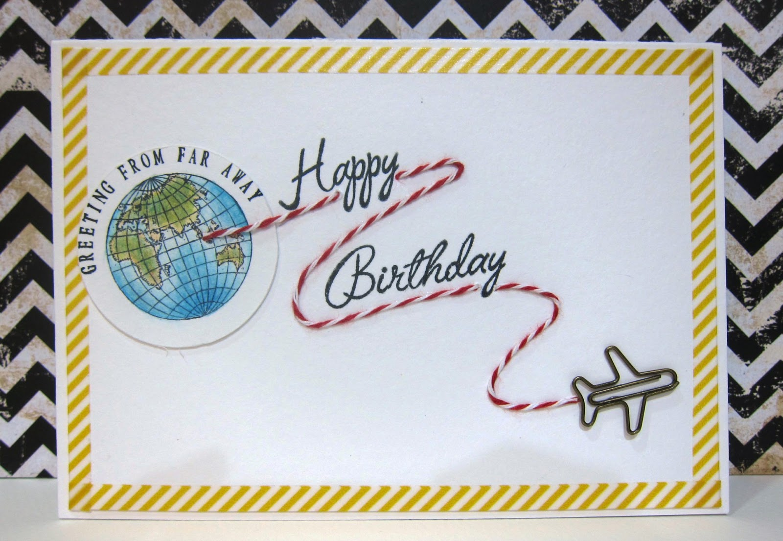 Creatif Journey Birthday Greeting From Far Away
