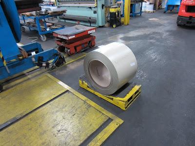 Aluminum coil at Buchner's
