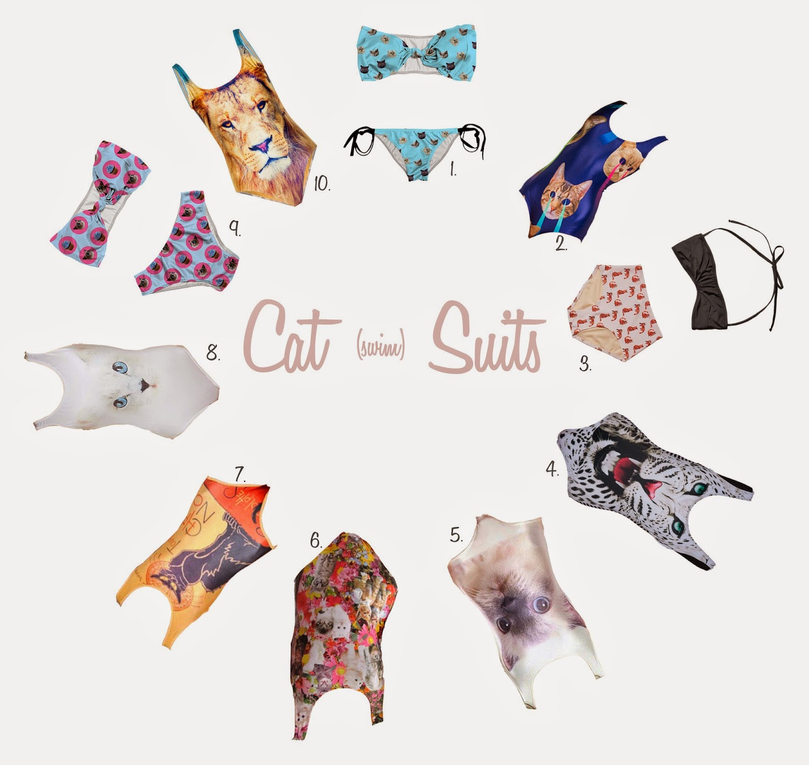 cat-swimwear, spinster-swimsuit, spinster-bikini, cat-bikini, kitten-bikini, beach-spinstering