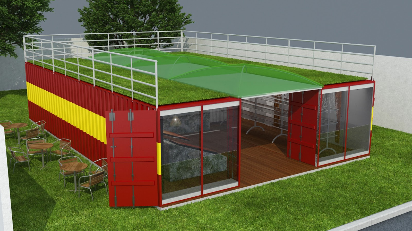 Populares twoninedesign: Projeto Container Selennas RQ64