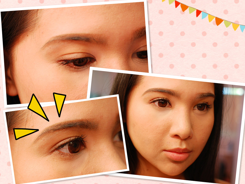 My Darling Rainbow Fixing Over Plucked And Over Arched Brows Tutorial