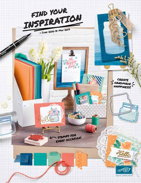 2016-2017 Stampin' Up! Catalogue
