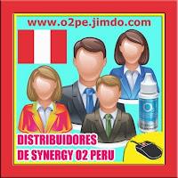 DISTRIBUIDORES DE SYNERGYO2 EN PERU