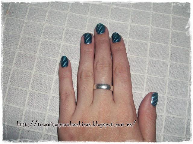 manicura esmaltes magneticos