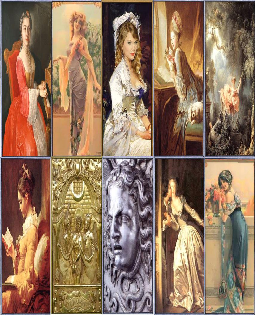 Simpaticons dieci quadri verticali immagine relative al 600 for Quadri verticali