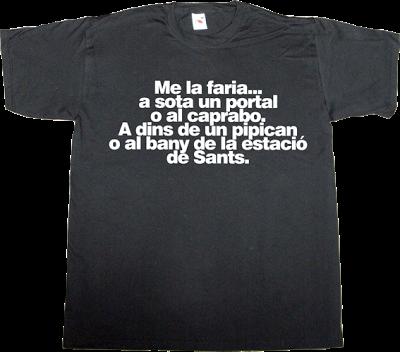 la competència rac1 jep cabestany fun west side story parody t-shirt ephemeral-t-shirts