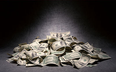 Dólares americanos - Dinero del Mundo - Billetes