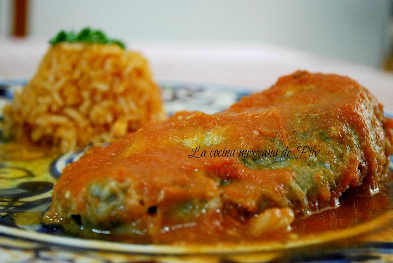 Chiles Rellenos Mexicanos chiles rellenos y ¡ participa ! la cocina ...
