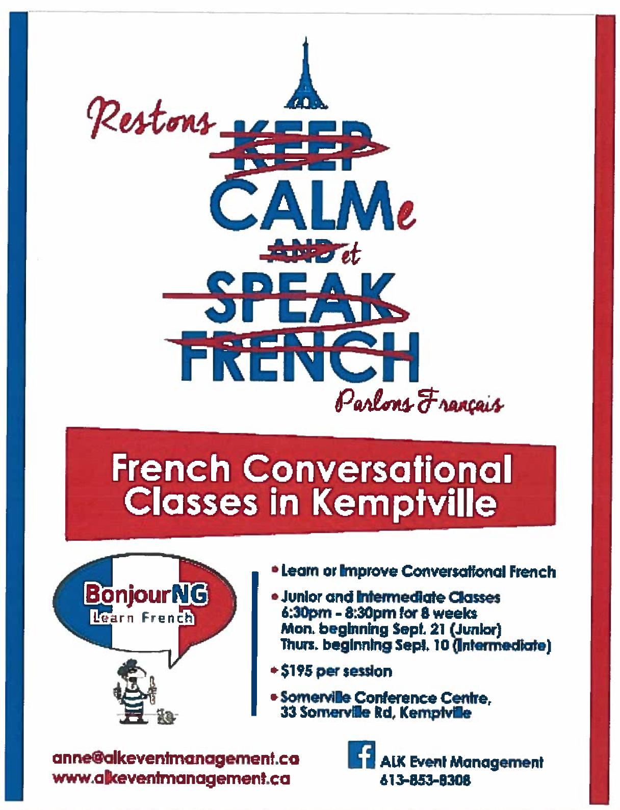 Cours De Français à Kemptville