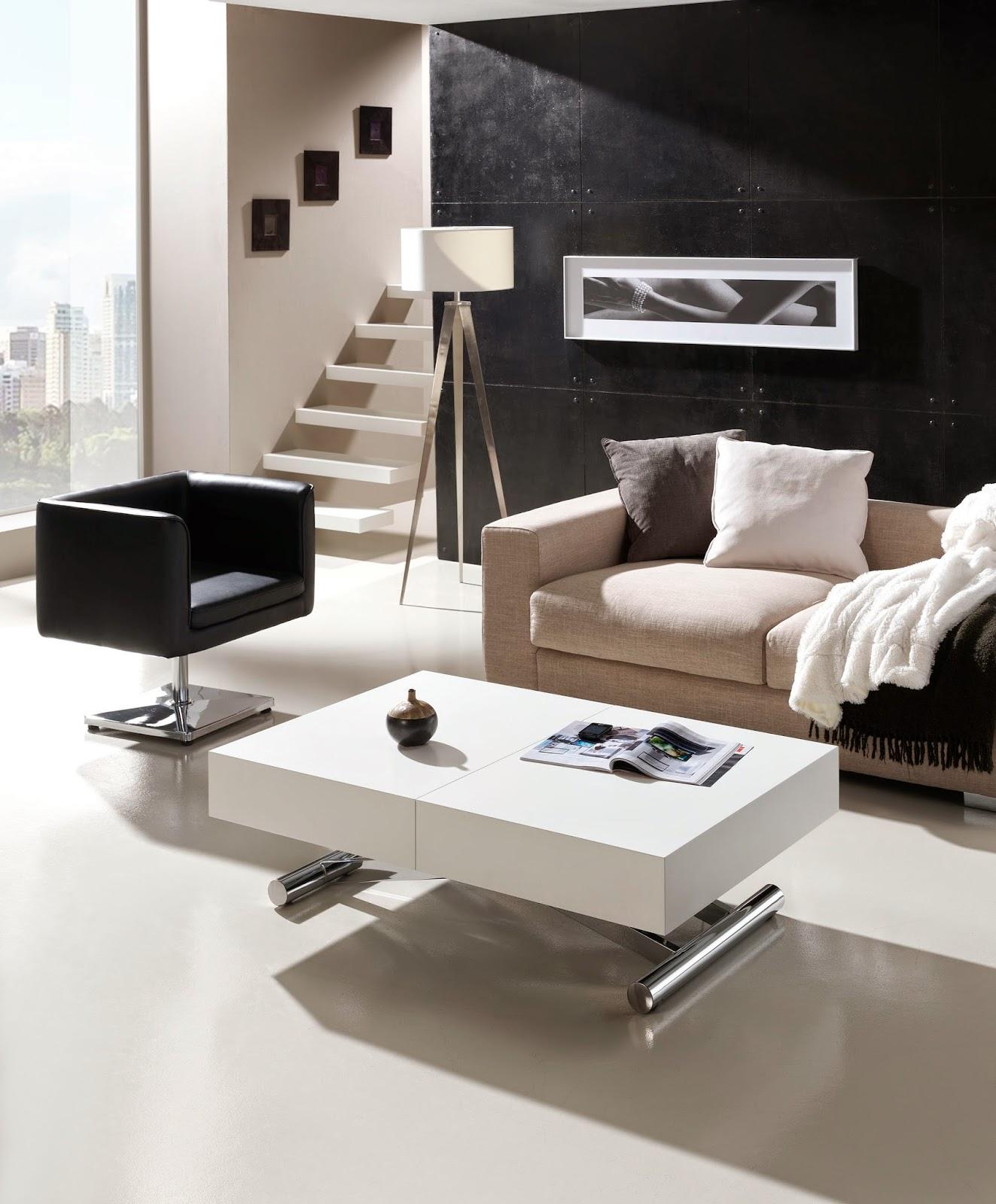 Salones modernos peque os for Salones modernos madrid
