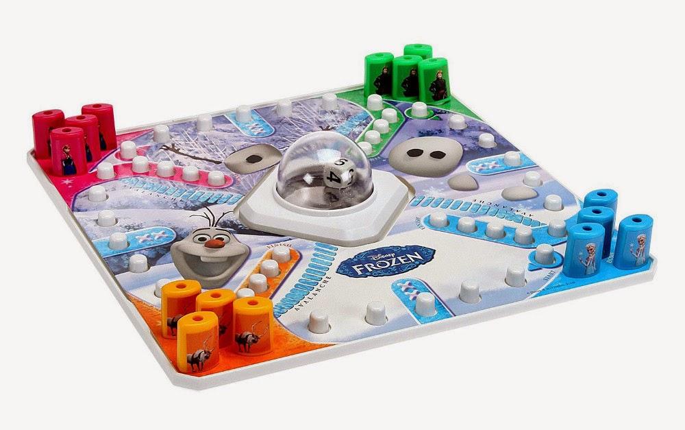 JUGUETES - DISNEY Frozen - Burbuja Mágica  Juego de Mesa | Hasbro Games | Producto Oficial  A partir de 5 años