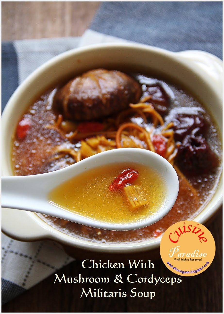 Food recipes chicken with mushroom cordyceps militaris soup food recipes forumfinder Choice Image