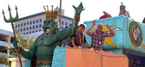 24 Hours of Mardi Gras Galveston 2015 with the Krewe of Who? News Story Article and Photos