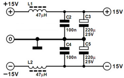Power Supply For Preamplifier