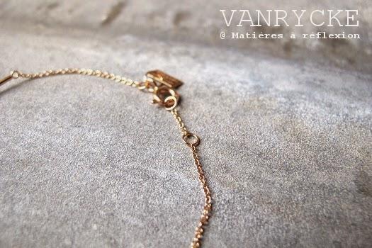 Bijou Vanrycke or rose 18k Bracelet Calamity Jane