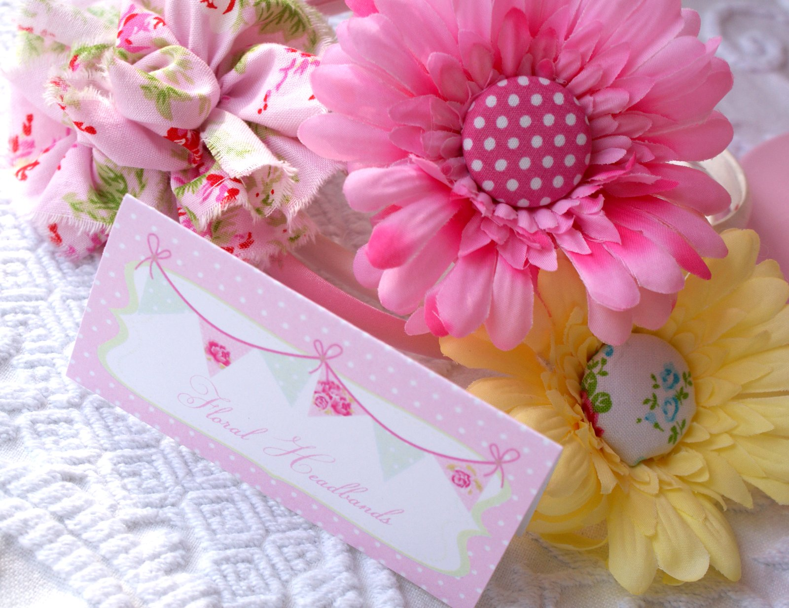 A Little Loveliness Birthday Craft Fair Project Making Floral