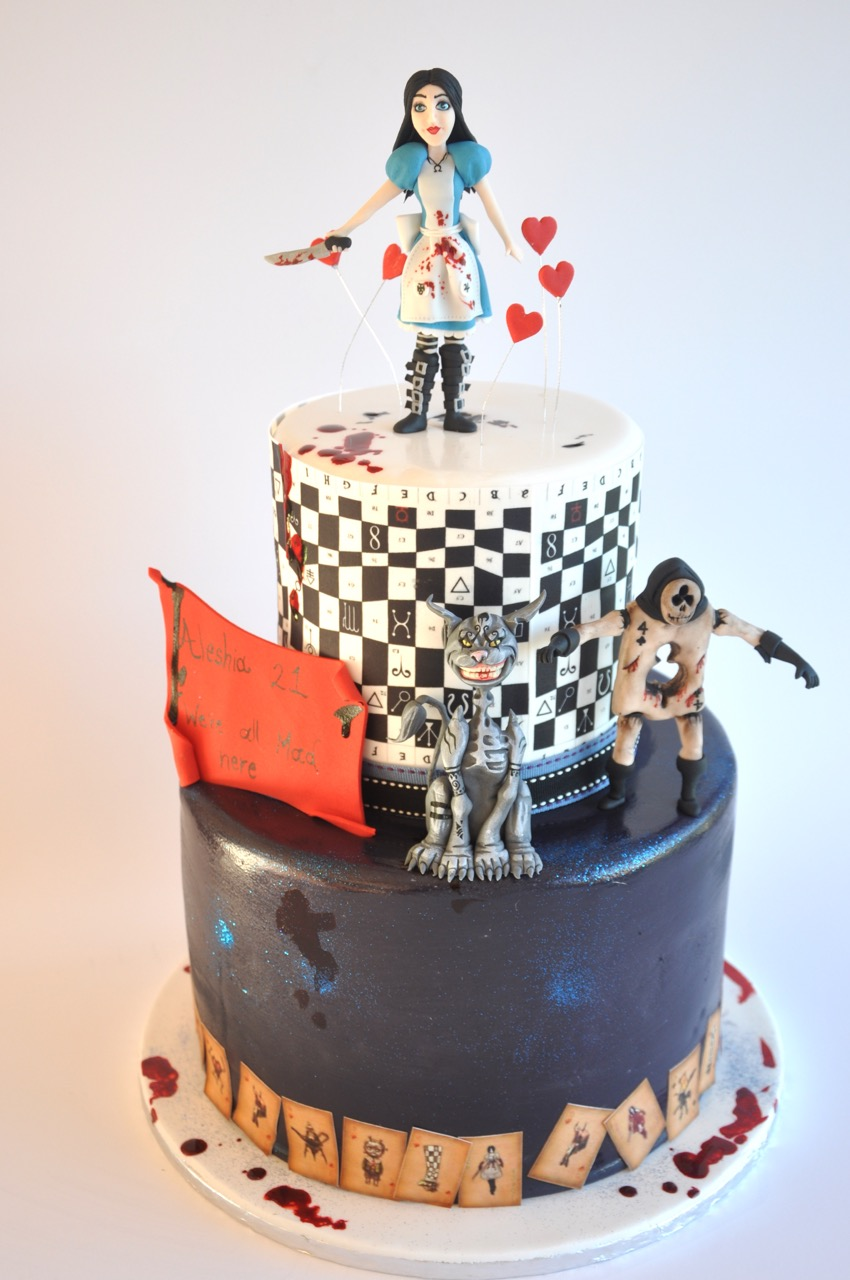 rozanne s cakes mad alice in wonderland cake on birthday cakes durbanville cape town