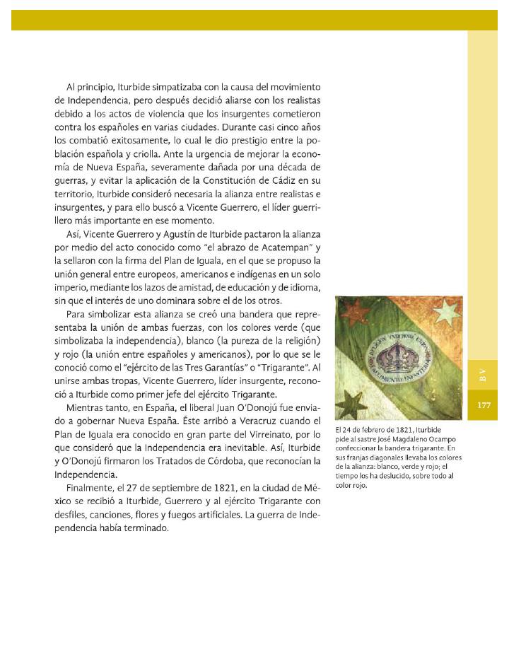 La consumación de la Independencia - Historia 4to Bloque 5 2014-2015