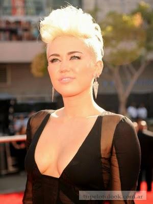 corte pelo 2014 Miley Cyrus