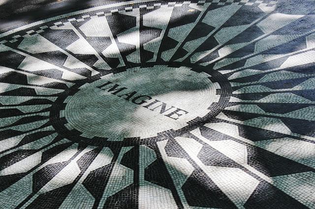 john lennon, memorial, strawberry fields, central park, imagine, new york, nyc, usa, united states of america, america