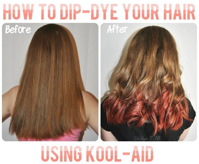 Kool-Aid Dip Dye