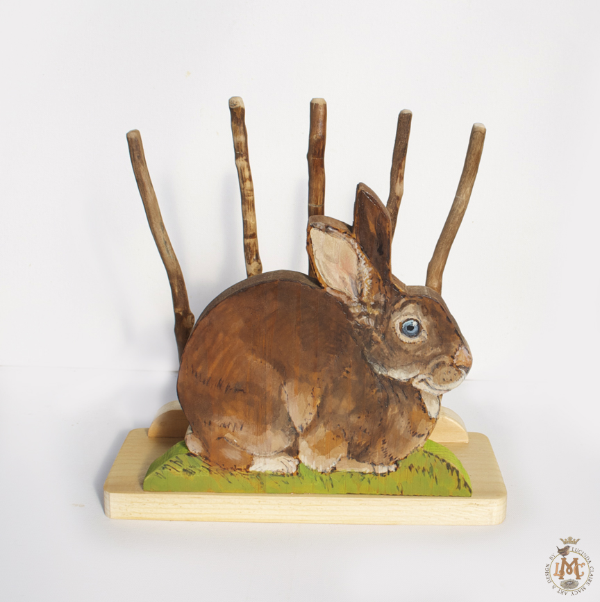Happy Rabbit book holder
