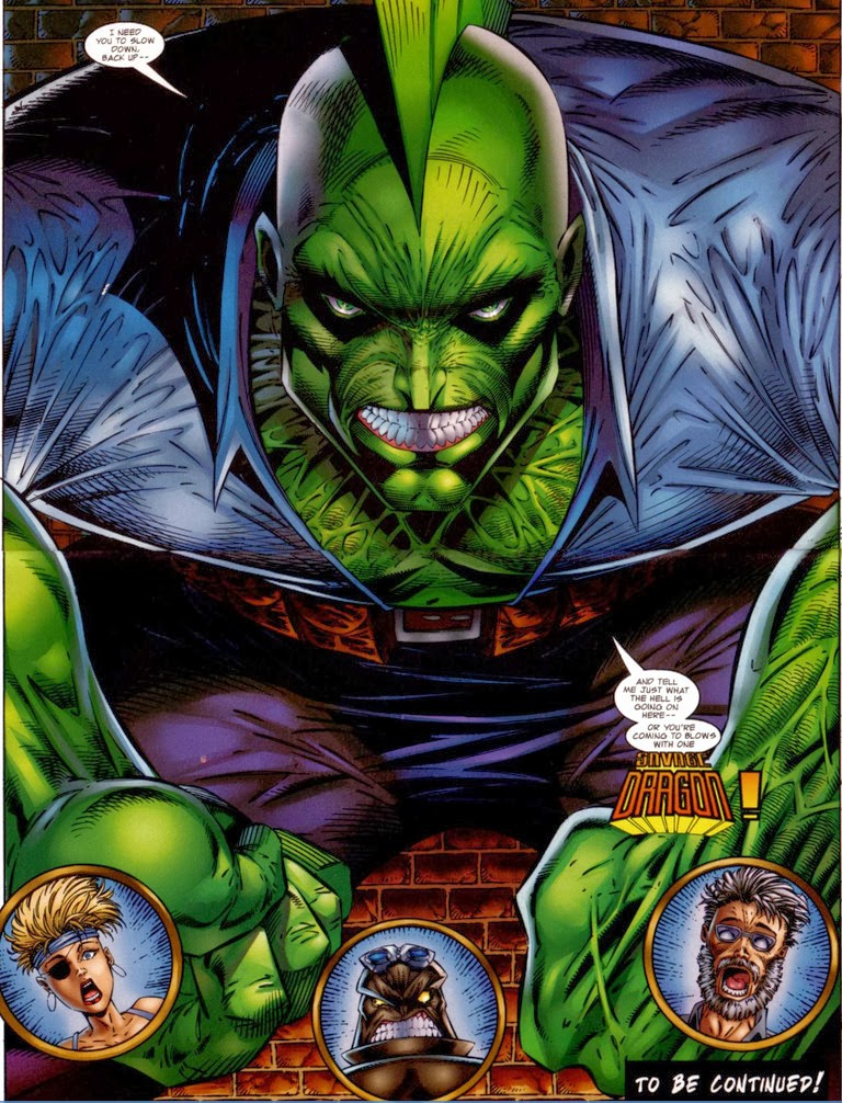 Badrock 1 Savage Dragon