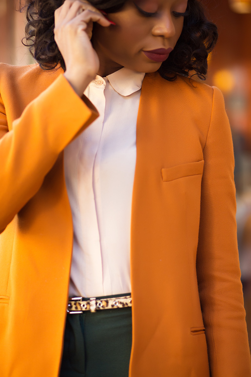 Fall color, zara blazer, www.jadore-fashion.com