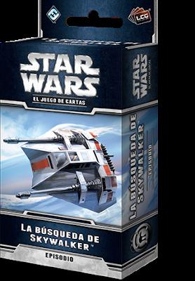 Expansión Star Wars LCG: Ciclo de Hoth - La búsqueda de Skywalker