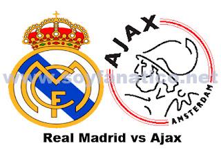 Real Madrid vs Ajax 3 de Octubre 2012