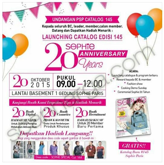 Katalog Sophie Martin November 2015 Launching Hari Ini