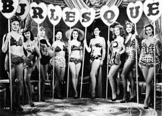 1950s burlesque ladies