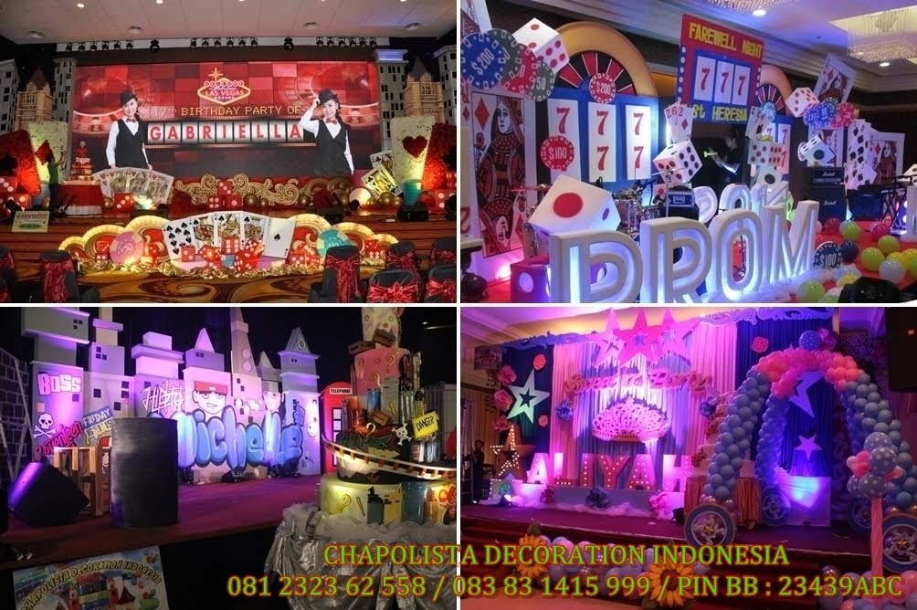 ( Klik...!!! ) DECOR SWEET 17 TH PARTY BOMBASTIS