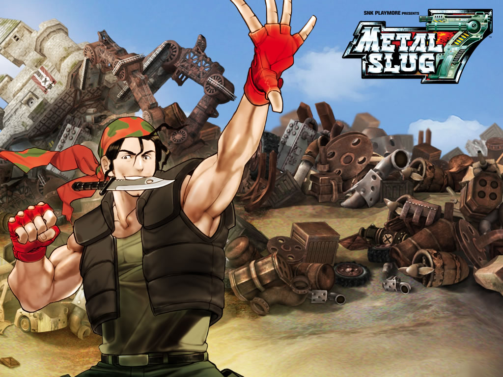 Metal Slug HD & Widescreen Wallpaper 0.122338108523904
