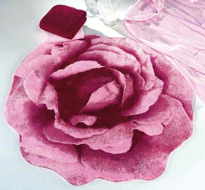 Pink Floral Bath Mats Rugs Abyss Habidecor Sheet Envy