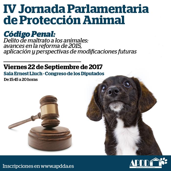 IV Jornada Parlamentaria de Protección Animal