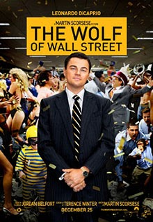 The Wolf of Wall Street Movie Poster 2013