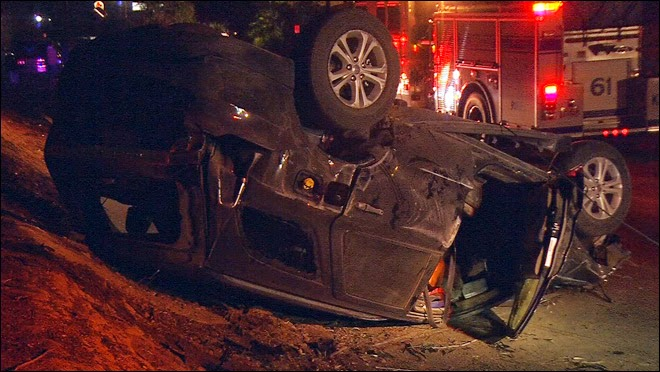 DUI Suspect Crashes After Short Chase In Midtown ...
