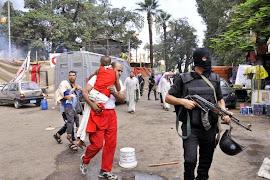 Militares cometem massacre no Egito